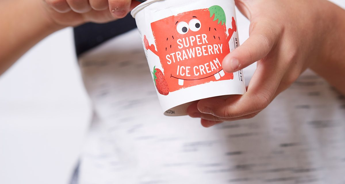 Little Bl°c Super Strawberry Ice Cream