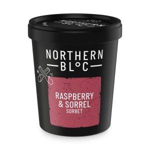 Raspberry & Sorrel Sorbet