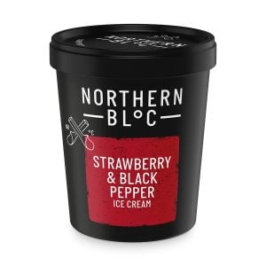 Strawberry & Black Pepper Ice Cream